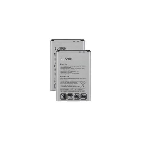 2x 2460mAh Battery For LG BL-59JH ENACT VS890 LUCID VS870 OPTIMUS F3 VM720