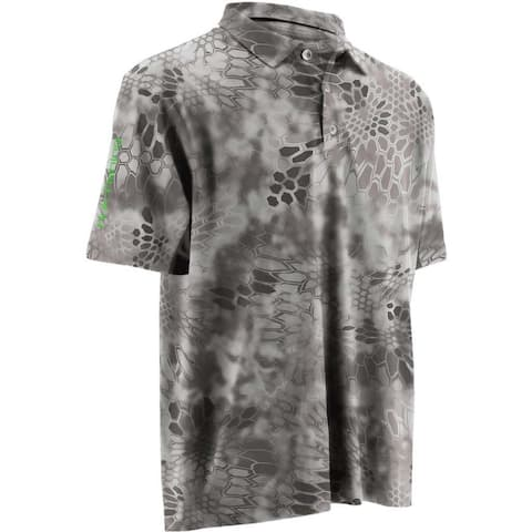 Huk Men's Kryptek Icon Raid Small Polo Short Sleeve Shirt