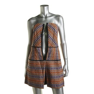 Rachel Rachel Roy Womens Go West Cotton Printed Party Dress - 0