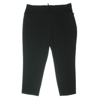 Jones New York Womens Capri Cuffed Track Pants