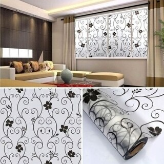 100 x 45CM Room Bathroom Home Glass Window Door Privacy Film Sticker PVC Frosted