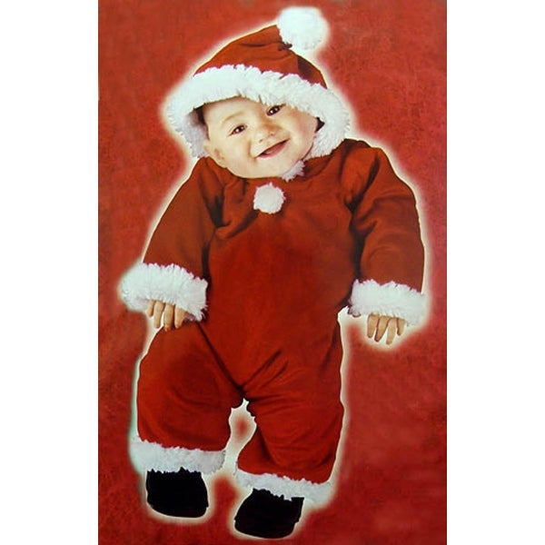 6d8fa2484 Shop Santa's Little Helper Christmas Baby Costume - Size Large (6-12  Months) - Free Shipping On Orders Over $45 - Overstock - 16548217