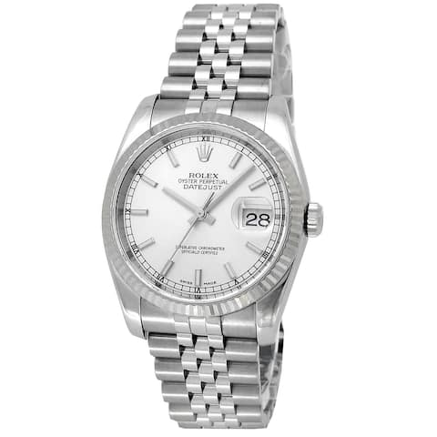 Pre-owned 36mm Rolex Datejust Watch - One Size