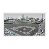 Chicago - Wrigley Field - Touch of Color Baseball Ballparks - 36x20 Canvas ToC