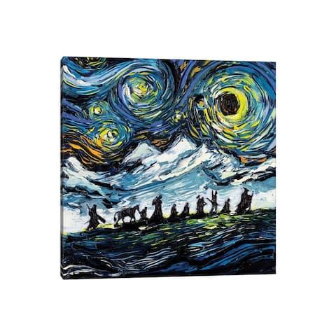 "iCanvas ""Van Gogh Never Saw The Fellowship"" by Aja Trier Canvas Print"
