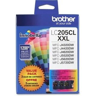 Brother LC2053PKS Brother Innobella LC2053PKS Ink Cartridge - Cyan, Magenta, Yellow - Inkjet - Super High Yield - 1200 Page