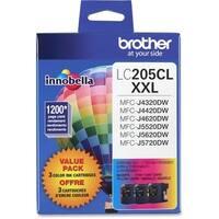 """Brother LC2053PKS Brother Innobella LC2053PKS Ink Cartridge - Cyan, Magenta, Yellow - Inkjet - Super High Yield - 1200 Page"