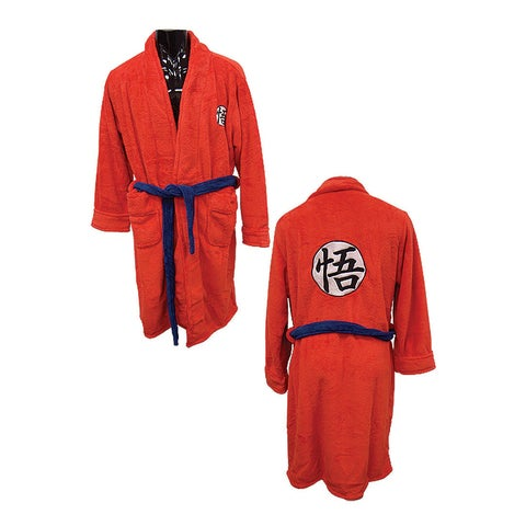 Dragon Ball Z Goku Bath Robe