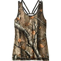 Legendary Whitetails Women's Big Game Camo Game Changer Tank