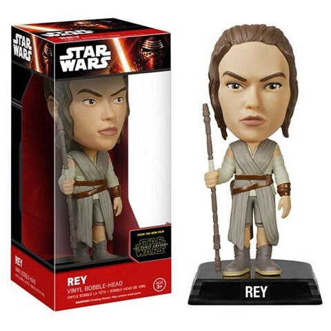 FunKo Star Wars: Episode VII - The Force Awakens Rey Bobble Head - Multi-Colored