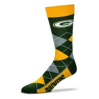 Green Bay Packers Argyle Crew Socks