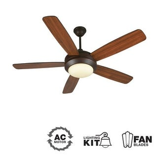 """Craftmade HE52 Helios 52"""" 5 Blade Indoor Ceiling Fan - Blades and Light Kit Included"""