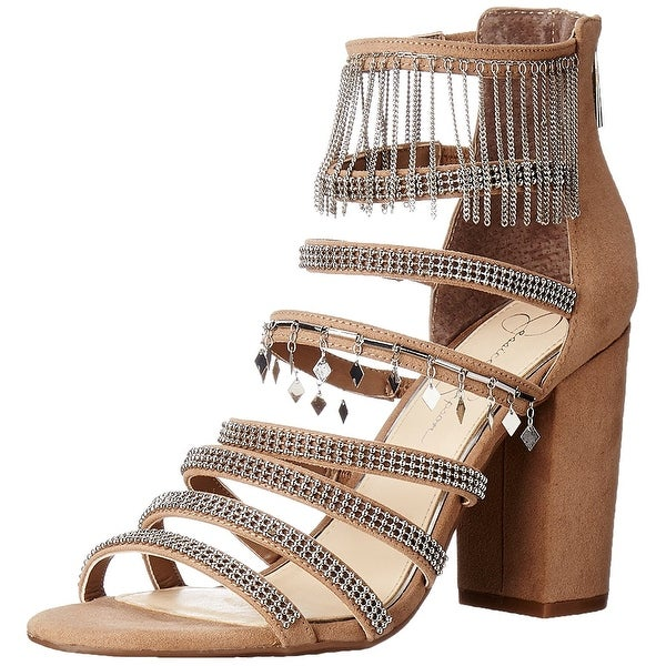 Jessica Simpson Womens Katalena Open Toe Special Occasion Strappy Sandals