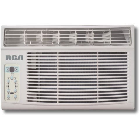 RCA RACE8002E 8000 BTU 115 Volt Window Air Conditioner with Auto Restart - - White