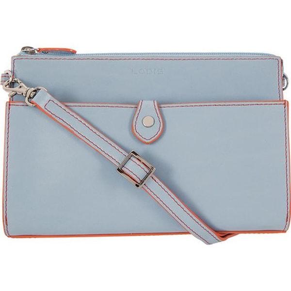 cb43dd737 Lodis Women's Audrey RFID Vicky Convertible Crossbody Clutch  Blue/Tangerine -