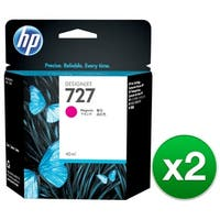 HP 727 300-ml Magenta DesignJet Ink Cartridge (F9J77A)(2-Pack)