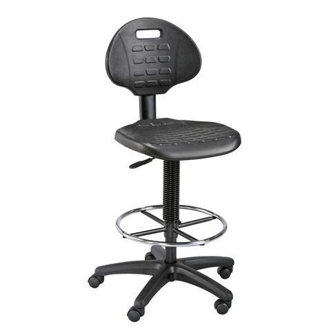 Alvin dc249 labtek black utility chair