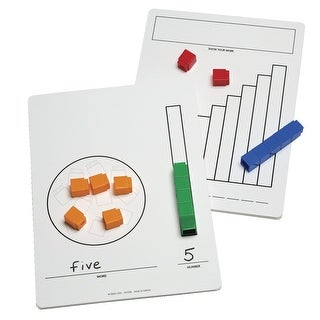 Didax Write-On/Wipe-Off UNIFIX Cube Mats