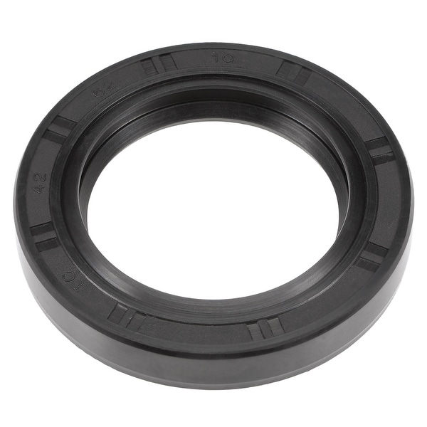 Oil Seal, TC 42mm x 62mm x 10mm, Nitrile Rubber Cover Double Lip - 42mmx62mmx10mm