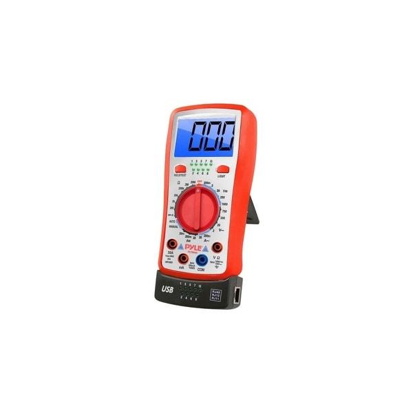 Pyle Audio PLTM40 Pyle PLTM40 Testing Device - Resistance Measure, Current Measurement, Range Measurement, Continuity Testing,