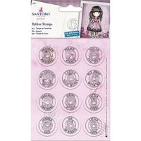 Santoro's Gorjuss Mini Stamp Set 12/Pkg-