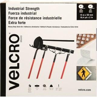 Velcro(R) Industrial Strength Peel & Stick Tape 50Mmx15m-White