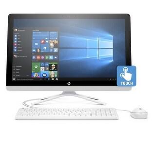 """Manufacturer Refurbished - HP AIO Desktop 24-g009 23.8"""" Core i3-6100U 2.3GHz 1TB HDD 8GB RAM Win10"""