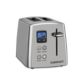 Link to Cuisinart CPT-415 Countdown 2-Slice Toaster, Stainless Steel Similar Items in Kitchen Appliances