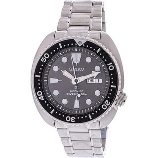 Seiko Men's SRPC23K Silver Stainless-Steel Automatic Diving Watch