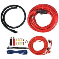 T-Spec V6-Rak1-0 V6 Series Amp Installation Kit With Rca Cables (1/0 Gauge)