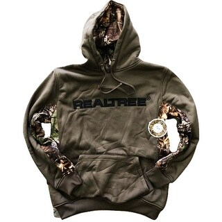 Realtree Men's Fleece Lined Pullover Hoodie Sweater Earthletics