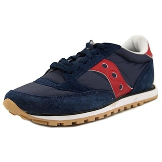 Saucony Jazz Lowpro Men Round Toe Leather Blue Sneakers