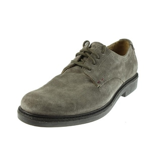 Sebago Mens Turner Suede Lace Up Oxfords