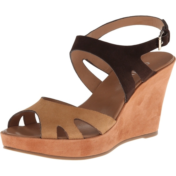 Cordani NEW Brown Shoes Size 9M Platforms & Wedges Leather Heels