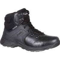 """Rocky Men's 6"""" Alpha Tac Duty Waterproof Boot RKD0040 Black Full Grain Leather"""