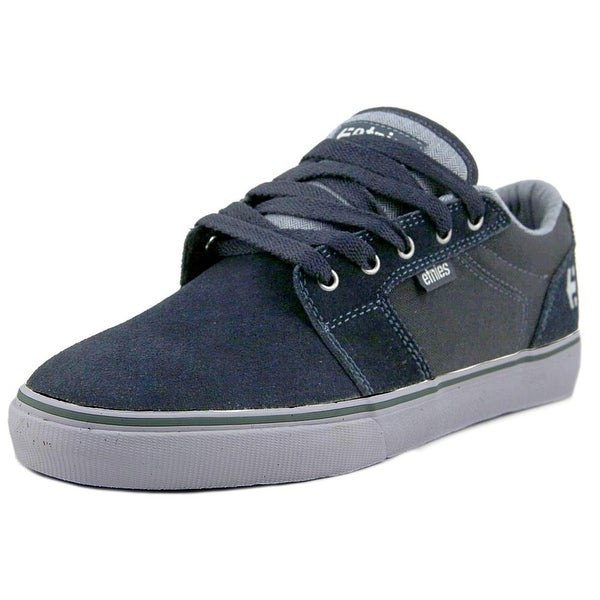 Etnies Barge LS Men Navy/Grey/White Skateboarding Shoes