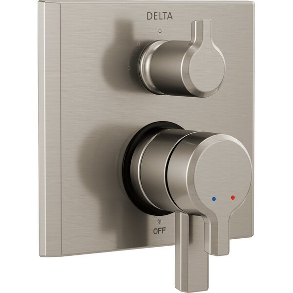 Delta T27899 Pivotal Monitor 17 Series Dual Pressure Balanced Valve Trim  with Integrated Volume Control and 3 Function Diverter