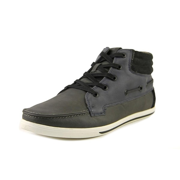 Aldo Kistna Men Leather Gray Fashion Sneakers