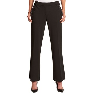 Calvin Klein Womens Dress Pants Studded Suit Separate