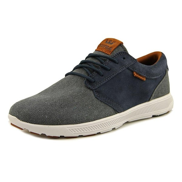 Supra Hammer Run Nonstretch Men Navy/Brown-White Sneakers Shoes