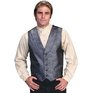 Scully Old West Vest Mens Formal Paisley Shawl Collar Polyester RW117 (Option: Red) https://ak1.ostkcdn.com/images/products/is/images/direct/1ee451f19f34896352e3faa50be7389566fc5971/Scully-Old-West-Vest-Mens-Formal-Paisley-Shawl-Collar-Polyester-RW117.jpg?impolicy=medium