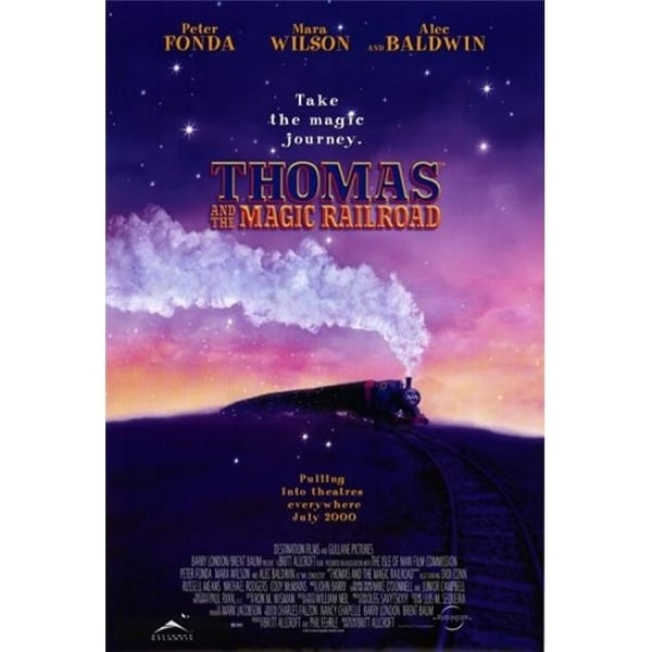 Shop Thomas Amp The Magic Railroad Movie Poster 11 X 17