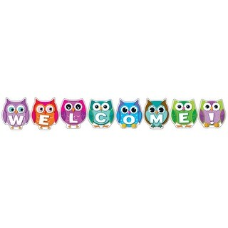 Colorful Owl Welcome