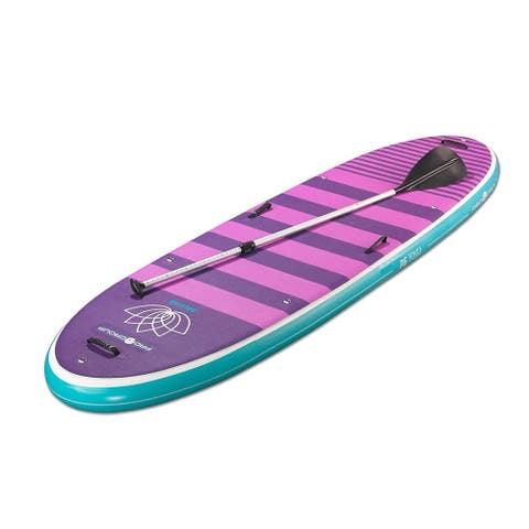 """Pro 6, P6-Yoga, Inflatable SUP 10' 6"""" L x 35"""" W / Carries up to 309 lbs weight"""