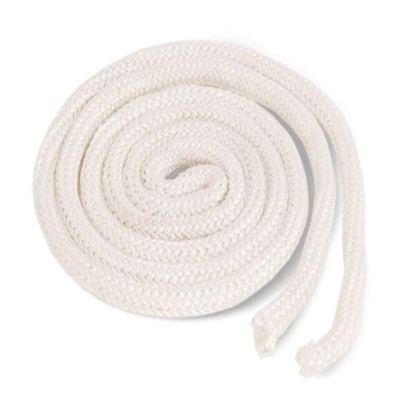 shop imperial ga0159 fiberglass gasket rope 1 x 6 white free
