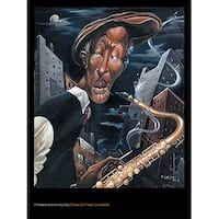 ''Straight, No Chaser'' by Frank Morrison African American Art Print (32 x 24 in.)