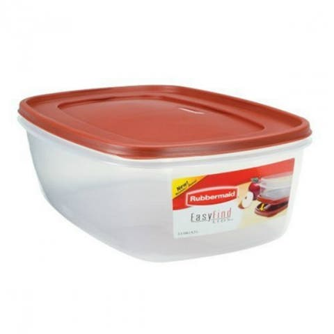 Rubbermaid 1777164 Easy Find Lids Food Storage Container, 40-Cup/2.5-Gallon
