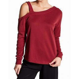 Harlowe & Graham Women Large Asymmetrical Pullover Sweater