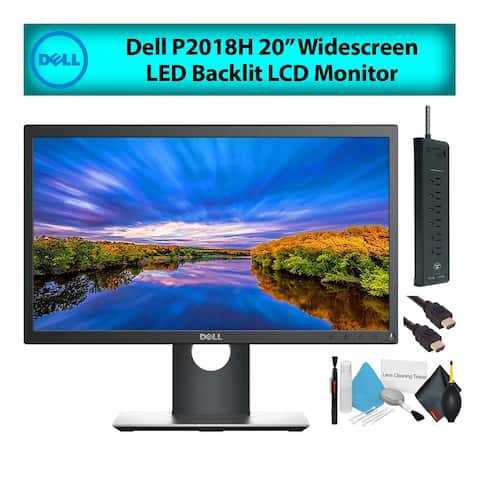 "Dell P2018H 20"" 16:9 Widescreen LED Backlit LCD Computer Monitor (1-Pack)"