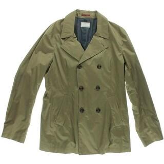 Brunello Cucinelli Mens Modern Fit Cotton Two-Button Blazer - L